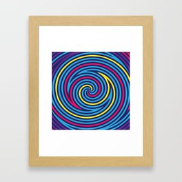 Hypnose. Colours Framed Art Print