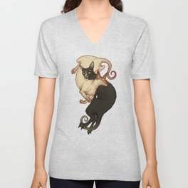 Monster Kitties Unisex V-Neck