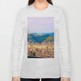 Italian Cityscape Long Sleeve T-shirt