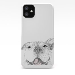 Whaddup :: A Pit Bull Smile iPhone Case