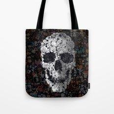 Doodle Skull Tote Bag
