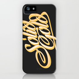 Solid Gold iPhone Case