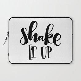 Shake It Up: white Laptop Sleeve
