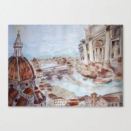 My Italian Adventure Canvas Print