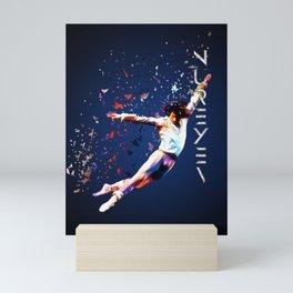 Fanfare for Nureyev Mini Art Print