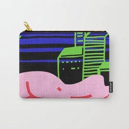 City girl slumber Carry-All Pouch