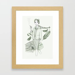The Birds - Movies & Outfits Framed Art Print