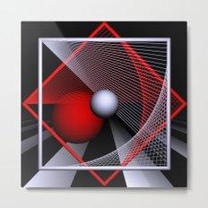 experiments on geometry -10- Metal Print