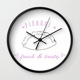 Pierogi Wall Clock