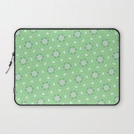 Pastel green geometry Laptop Sleeve