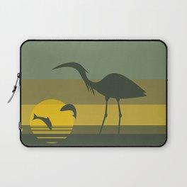 Blue Heron Laptop Sleeve