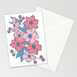 Floral Grouping Stationery Cards