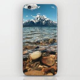 Crystal Clear Jackson Lake in Grand Teton iPhone Skin