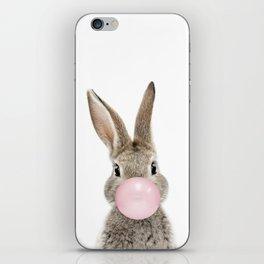 Bubble Gum Bunny iPhone Skin