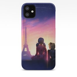 Miraculous in Paris iPhone Case