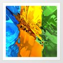 Blend of Bright Colors by perkinsdesigns
