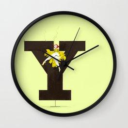 Yves & Rockwell Wall Clock