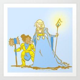 Magic Wives Art Print