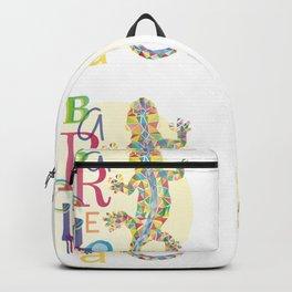 Barcelona City Lizard Backpack