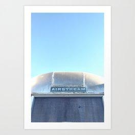 Airstream, Top View Art Print