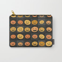 Pumpkin Check Carry-All Pouch