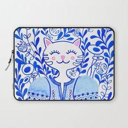 Folk Cat Laptop Sleeve