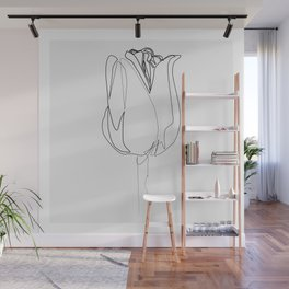 """""""Botanical Collection"""" - Tulip Flower Print Wall Mural"""