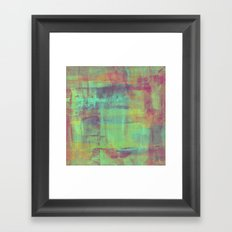 Humility - Mixed Colour Abstract Framed Art Print