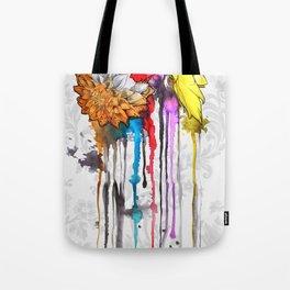 birth of a color Tote Bag
