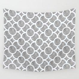 Grey Geometric Wall Tapestry