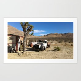 Deserted Desert Art Print