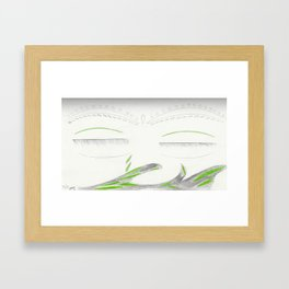 Cry Framed Art Print