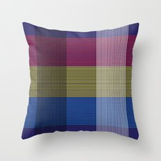 Crossing Color Throw Pillow