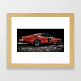 Charger Framed Art Print