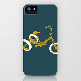 tricycle 01 iPhone Case