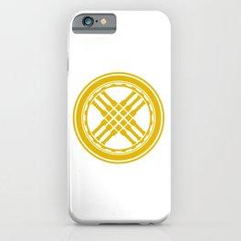Golden Stylized Shanirak  iPhone Case