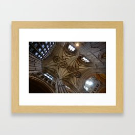 Canterbury Cathedral  Framed Art Print