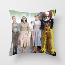 Pennywise in The Sound of Music Throw Pillow
