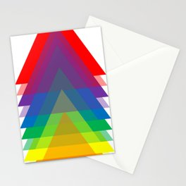 Rainbow Up! Stationery Cards