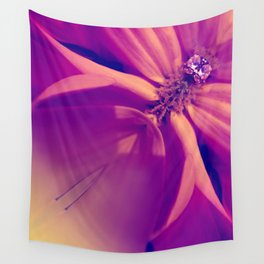 Floral Gem Abstract Wall Tapestry