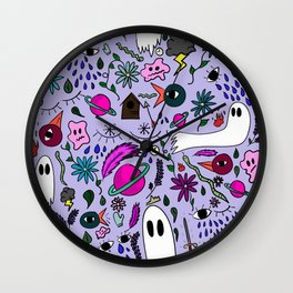 A Collection of My Mind Wall Clock