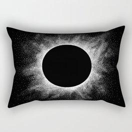 Eclipse - Stippling Rectangular Pillow