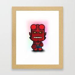 Devil Boy Framed Art Print
