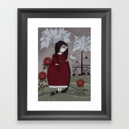 Winterbird, or Hope is a Thing With Feathers Framed Art Print