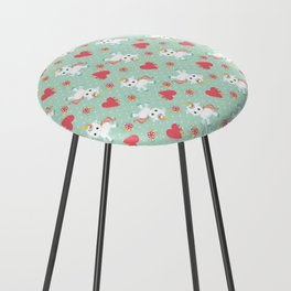 Baby Unicorn with Hearts Counter Stool
