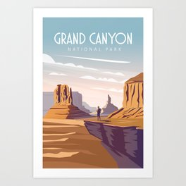 Grand canyon national park united states Art Print