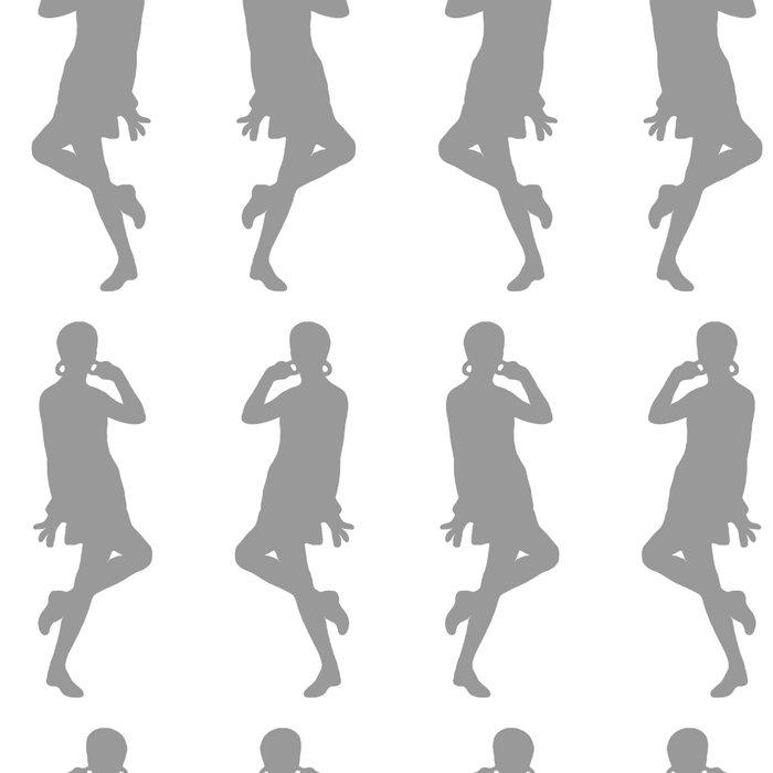 Gray Bold Mod GoGo Girls Leggings