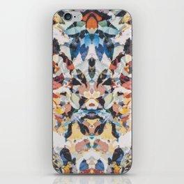 Rorschach Flowers 1 iPhone Skin