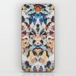 Rorschach Flowers 1 iPhone Skin
