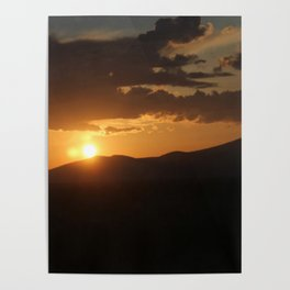 Smith Rock Sunrise Poster